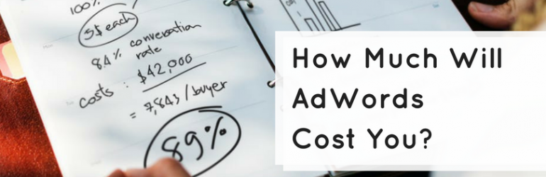 how much does adwords cost