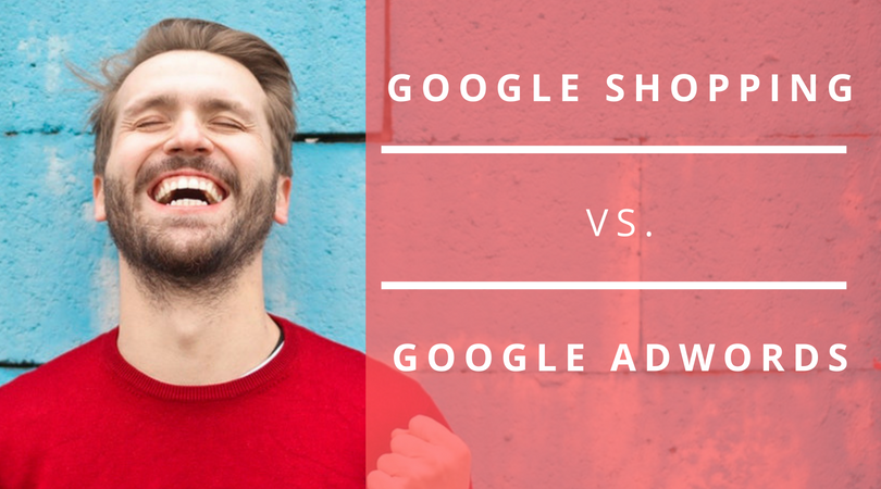 google shopping vs google adwords