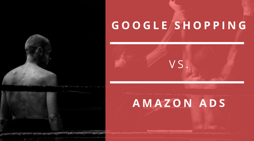 google shopping vs amazon ads